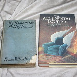 Vintage book lot 1916 my home..accidental